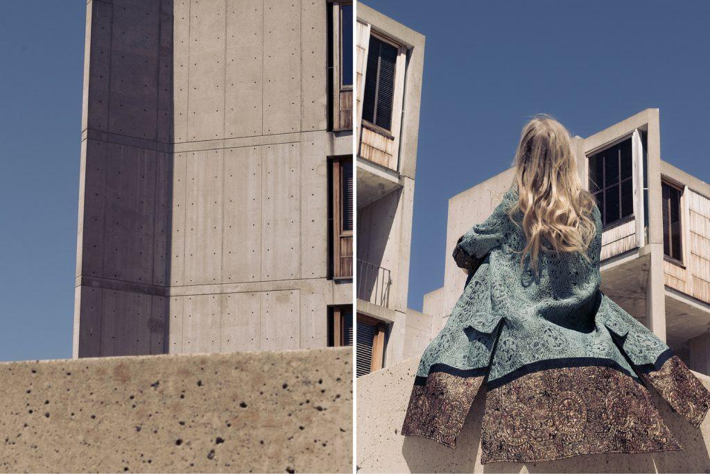aestheticallypleasing.com - H&M CONSCIOUS EXCLUSIVE SILK JACQUARD COAT