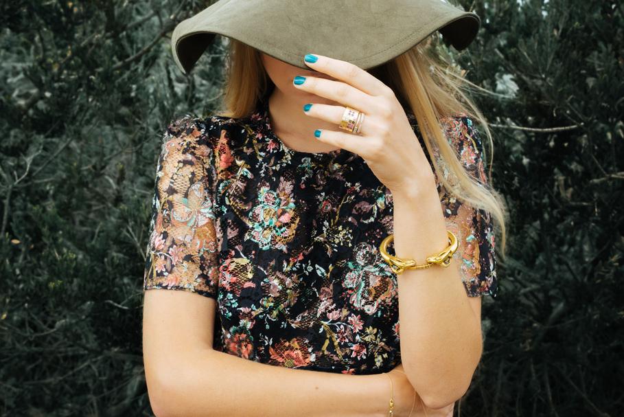 flower dress - Olga Pancenko